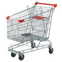 China Factory Whoesle 165L Australian Shopping cart / go cart / Shopping Trolley