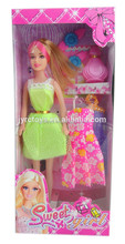 New Products 2015 Girl Doll With Kids Fashion Dresses by YX001D