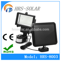 Super bright 60LED solar power security light,solar sensor light