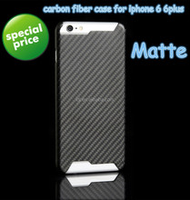 Hot selling featherlight real carbon fibre phone case for iPhone 6, for iPhone 6 plus, for iPhone6 and iPhone6 plus carbon case