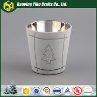 New product in China types of christmas decorations votive candle holder