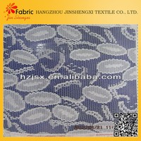 Pretty design china made soft polyester material lace dyeing fabric