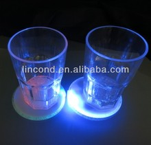 Exclusive designed Lighting liquid active led champagne cups