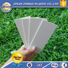 Hot sale 1mm pvc cover plastic sheet white
