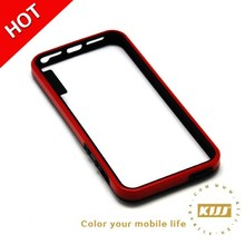 TPU Mobile case Soft PC Bumper cover case for iphone 5 5S