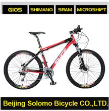 SOLOMO Red Rabbit D581 Aluminium Alloy Frame High-level Configuration 26 Inches 30 Speed MTB bike