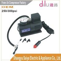 mini Car air compressor,300/250PSI air pump, air inflator,16mm cylinders air compressor