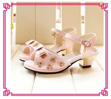 New arrival fashion baby girls dress sandal shoes