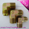 carbon steel tee forged pipe fitting three way adapter hydraulic terminal tee connector