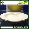biodegradable deep dish bamboo fiber deep plate