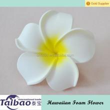 Women wearing DIY factory direct artificial Hawaiian foam frangipani flowers