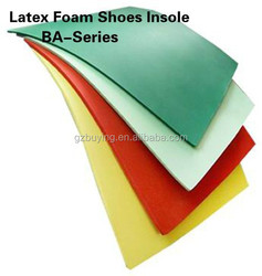 friendly Latex foam shoe material with good quartity
