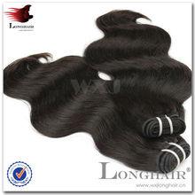 jet black color body wave wholesale price per kg hair