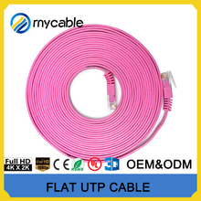 Cable manufacturer flat ethernet cable with pure copper/CCAM