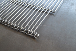 high quality chain link belt conveyors china or conveyer belt china with wire mesh belt