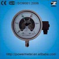YX150A-150mm stainless steel Multi electric contact pressure gauge with electrical contact