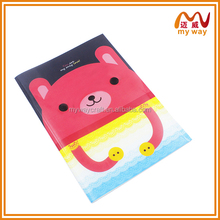 Cute teddy bear mini notebook of wholesale stationery for kids