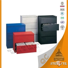 Comfortable design cheap price office using under desk 4 drawer file cabinet / lateral filing cabinet