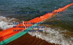 Oil Spill Cleaning Absorbent Boom,Rubber Oil Barrier,Seaweed Fence