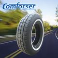Suv neumáticos usados venta al por mayor precio barato 185 / 70R14 185 / 65r15 195 / 65r15 205 / 55r16 215 / 60r16 china del neumático de coche de la pared blanca del neumático de coche