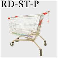 RD german supermarket shopping trolley coin locks