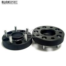 Anodized aluminum spacers for alloy wheels for Hyundai Santa Fe