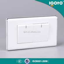 America standard 2G 1 way light switches with neon