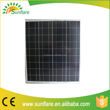 2015 new style low price 75w poly solar panel with full certificate
