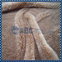 Lujoso Animal Impreso microfibra tejida tela de felpa