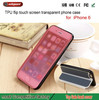 Ultra Transparent Screen Touch Case for iPhone 6, Touch Screen Phone Case For Smart Phones