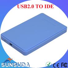 2.5'' IDE HDD Case Portable usb2.0 to IDE Hard Disk Case