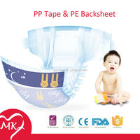 Hot Sale High Quality Competitive Price Disposable bebe baby diapers Manufacturer from China
