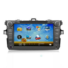 Toyota Collora Car Stereo 8 inch 2 din with 3G