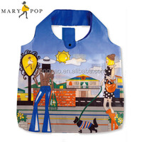 City Sky Foldable Small Gift Bag for Shopping