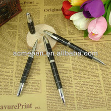 Metal Ballpoint Pens Square Pattern Metal Parket style refill Twist Mechanism Pen Office & School Supplier Stationery