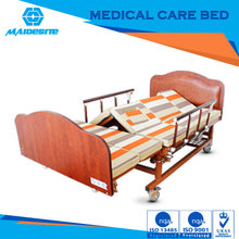 cheap price nursing bed with two function for complete care of bedridden patients