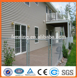 2015 hot sale China factory supply low prices chian link fence/Used chain link fence for sale