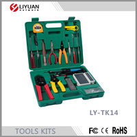 LY-TK14 15pcs Repair Tool Set Household Hand Tool Set Hand Tool Kit
