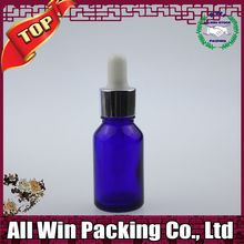 trademark shining hot stamping round glass bottle for cosmetic