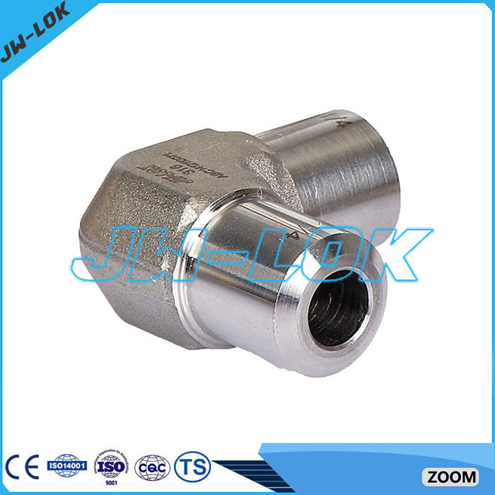 Swagelok type pipe fitting stainless steel