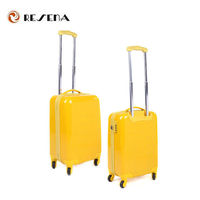 Bright Color ABS Custom Lightweight Travel Plastic Luggage