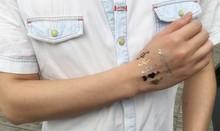 Art body sticker tattoo waterproof tattoo metallic tattoo