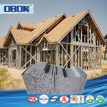 OBON china prefabricated light steel houses frame modular homes