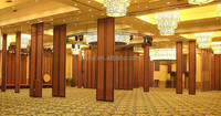 china manufacturer aluminium modular room insulation sound proof partition walls for banquet hall