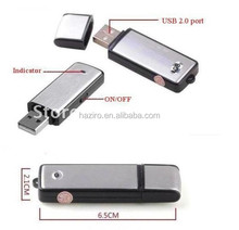8GB usb keychain digital voice recorder ,mini voice recorder ,spy voice recorder