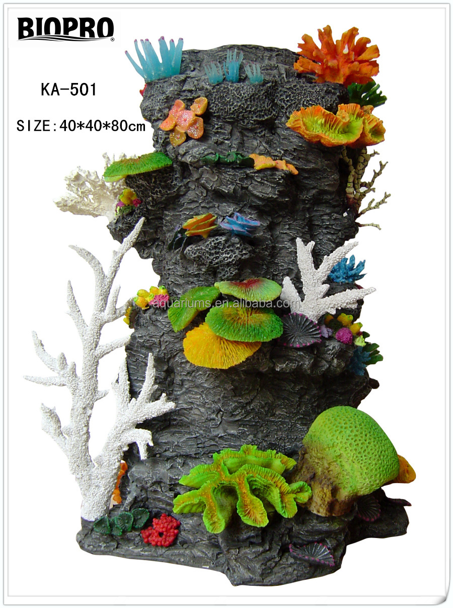 Biopro brand salt water aquarium ornaments craft for Artificial coral reef aquarium decoration uk