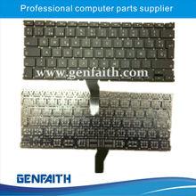 buen precio y ordenador portátil negro Diseño de teclado sp alta calidad para Apple A1369
