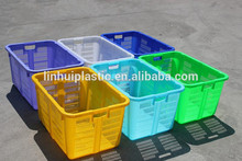 Rectangular nestable plastic box PE container in cheap price
