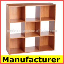 El diseño moderno de madera librería, libreros, libro de gabinete, estante para libros