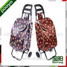 juxin portable shopping trolley foldable bear bag